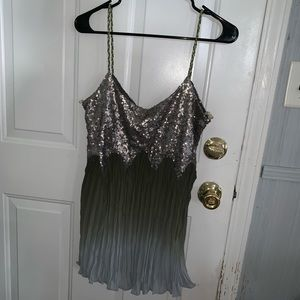 Gimmicks by bke sequin tank